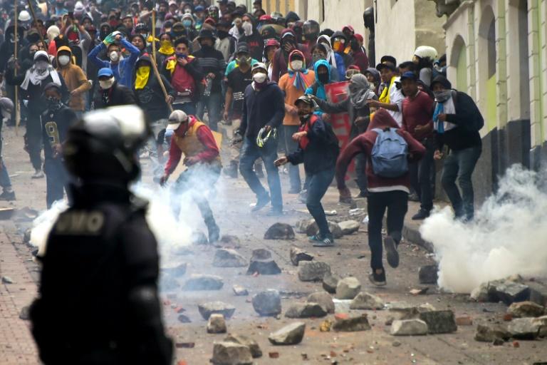 Kenaikan harga minyak: Protes di Ecuador memuncak