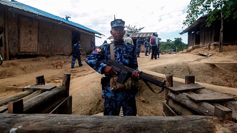 Pemberontak Rakhine culik 31 pekerja