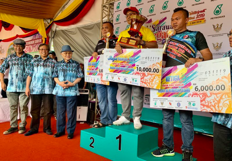 Regatta Sarawak 2019: Landas rangkul gelaran Raja Sungai