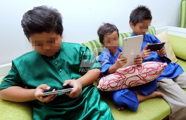 Cabaran mengajar anak di rumah