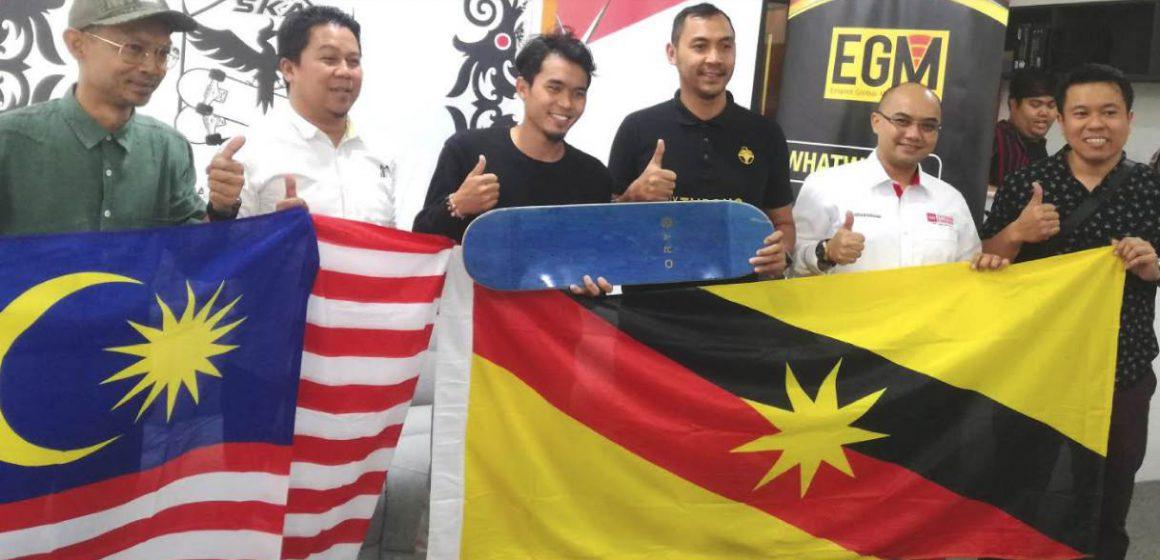 Bangunkan sukan papan selaju di Sarawak
