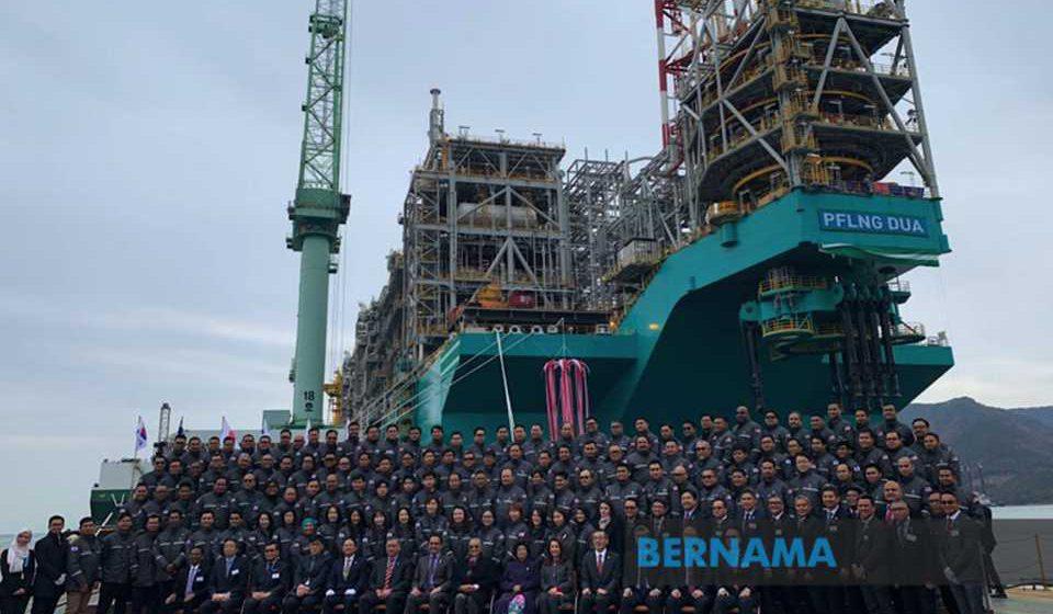 PM lawat aset LNG terapung kedua Petronas di Korea