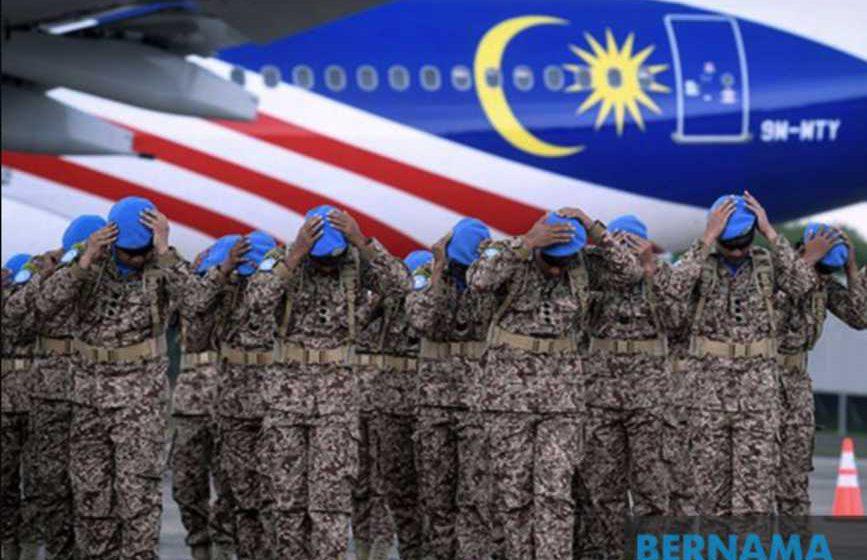 Pasukan pengaman Malaysia di Congo selamat