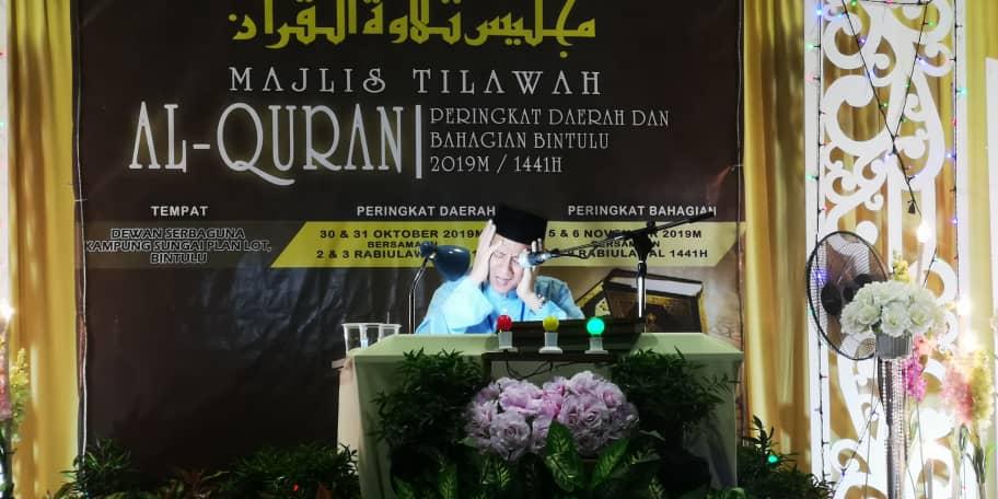 Majlis Tilawah Al-Quran satukan umat Islam di Sarawak