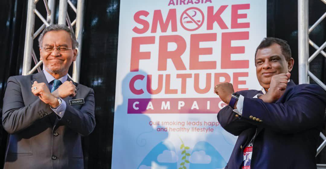 Usaha bebas merokok: AirAsia menerima pensijilan Blue Ribbon Beyond