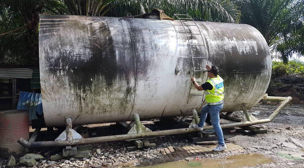 16,000 liter minyak diesel tanpa permit dirampas