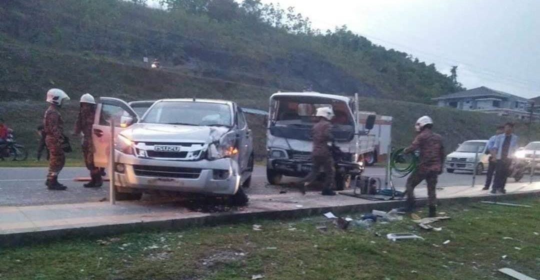 Seorang maut, empat cedera dua kenderaan bertembung