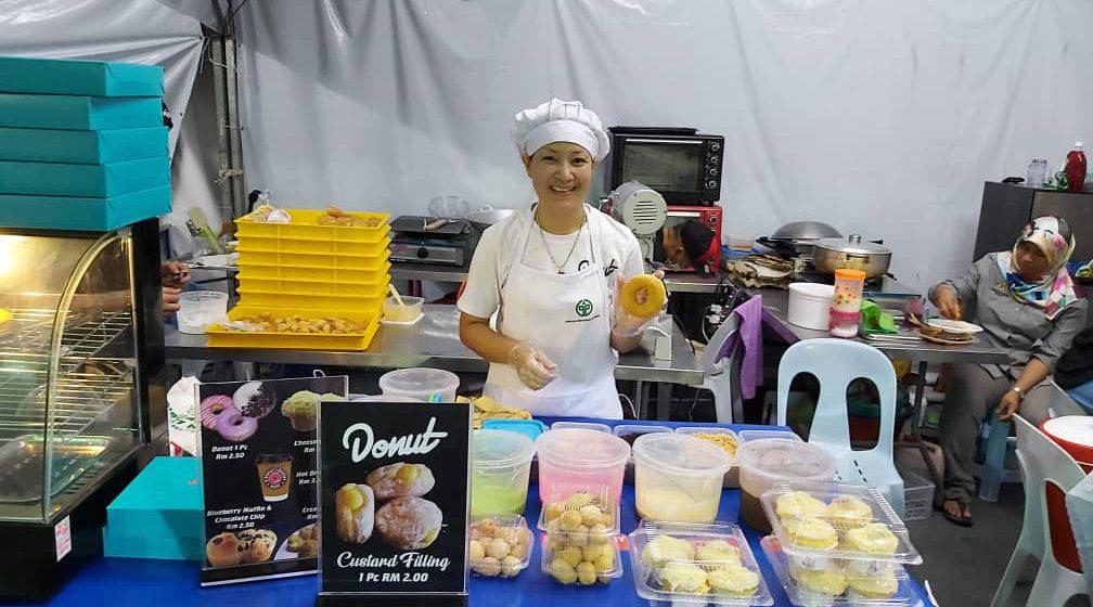 Monica sanggup napi pemar ketegal keran ngulu Agrofest Sarawak 2019