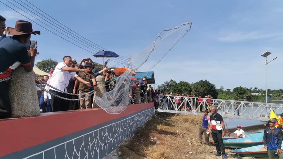 Pesta Padaq jadi acara tahunan di Daerah Balingian