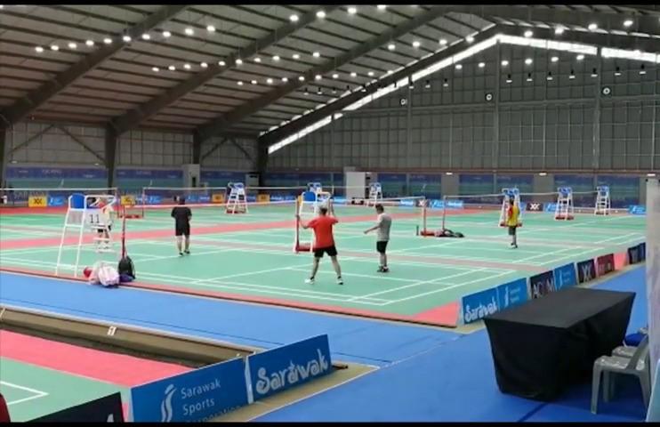 Kejohanan Badminton World Masters Kuching dikejutkan dengan penyertaan warga emas