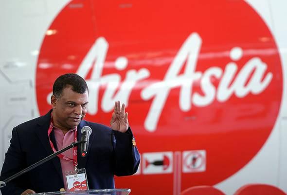 Tony lancar pelbagai tawaran di AirAsia.com