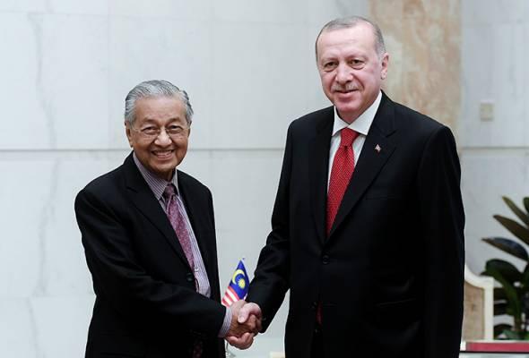 Dr Mahathir, Presiden Erdogan adakan perbincangan di Putrajaya