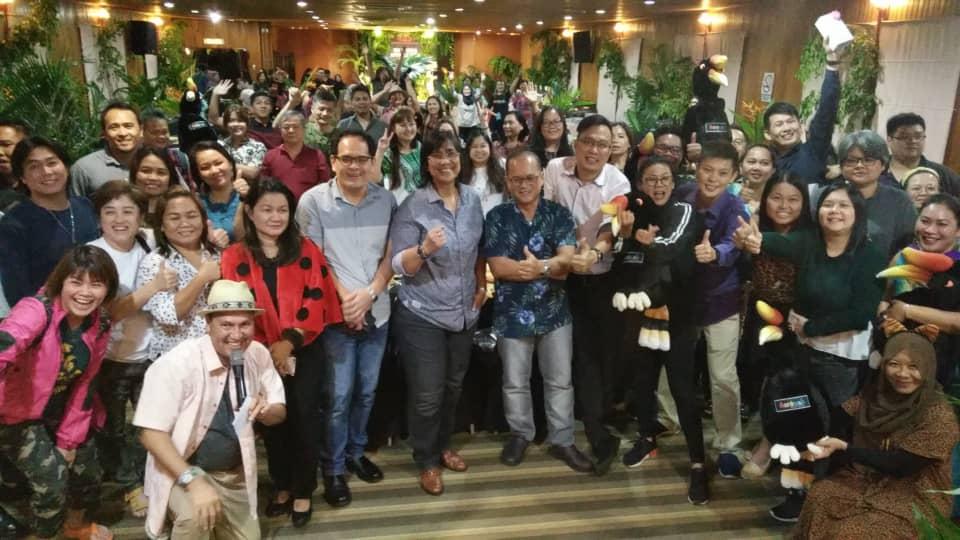 Kimpin Nemuai Ke Sarawak mujur asil sukung pemberita