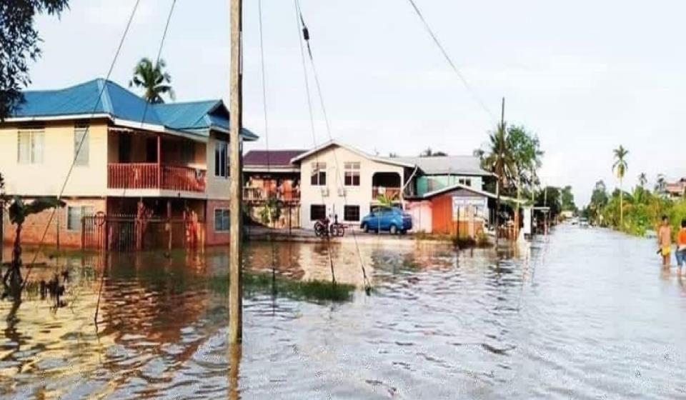 37 kawasan di Marudi terjejas banjir setakat 4 petang