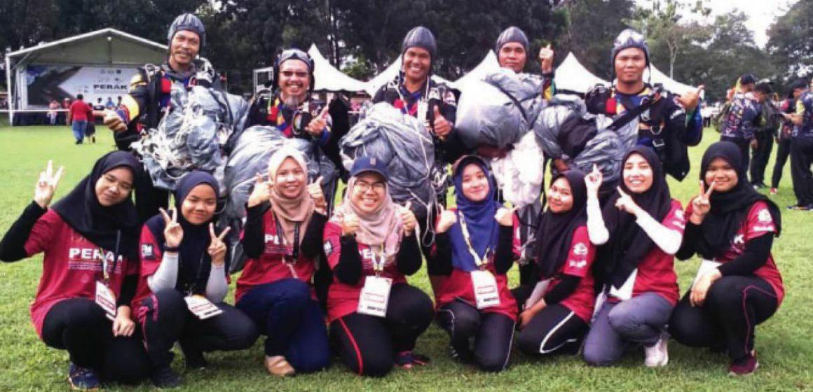 Kenyalang Skydive julang nama Sarawak