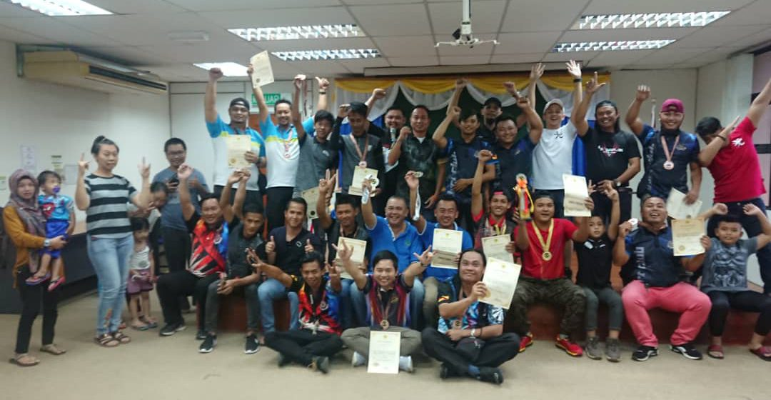MPV Victory dari Bintulu Juara Kejohanan Dart Beregu Terbuka MDDM 2019