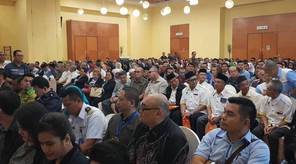 Ketua Menteri Sarawak rasmi penutupan Program Pegawai Integriti Bertauliah di Bintulu