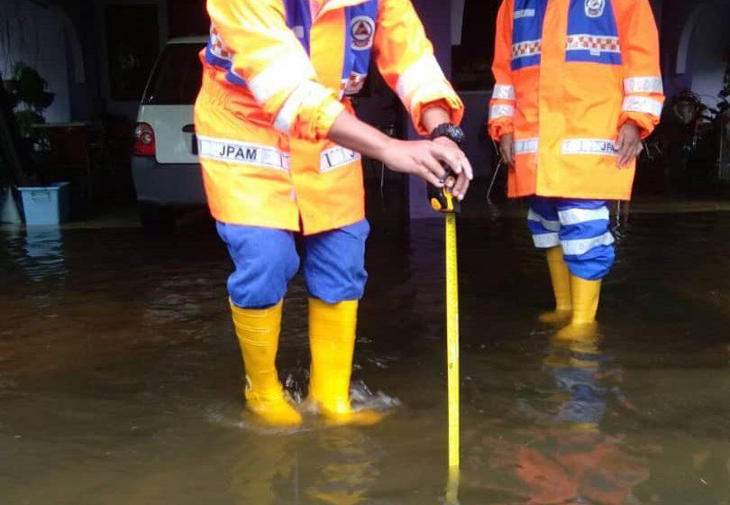 Beberapa kawasan di Mukah dilanda banjir