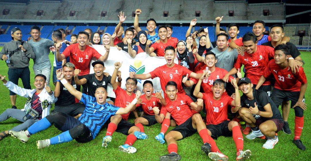Yayasan Sarawak juara Liga  Kuching Lea Sports Centre 2019