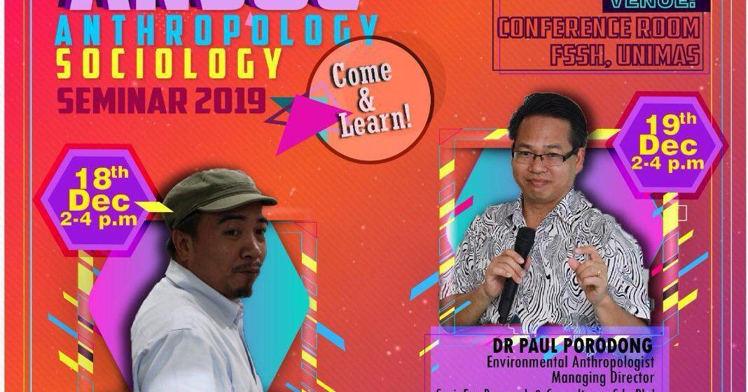 Ceramah bidang antropologi di Unimas Rabu, Khamis depan