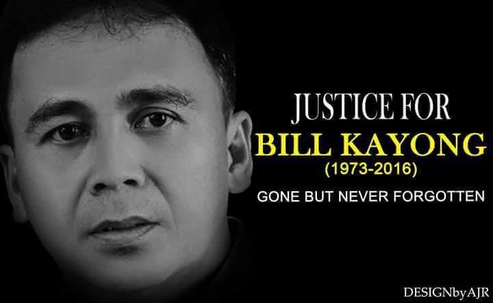 Sampal nungkun dian ke niang Bill Kayong