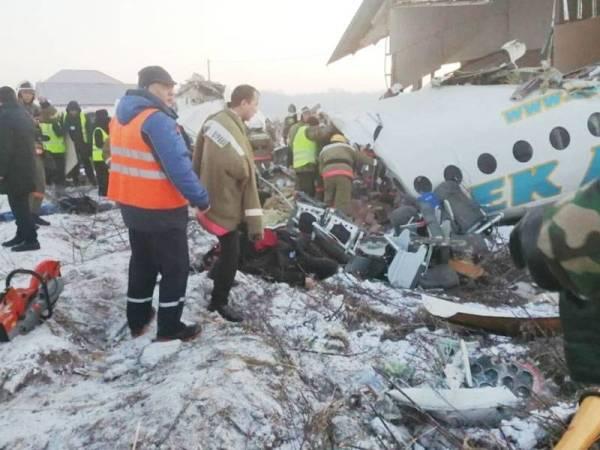 15 maut, pesawat terhempas di tengah kota