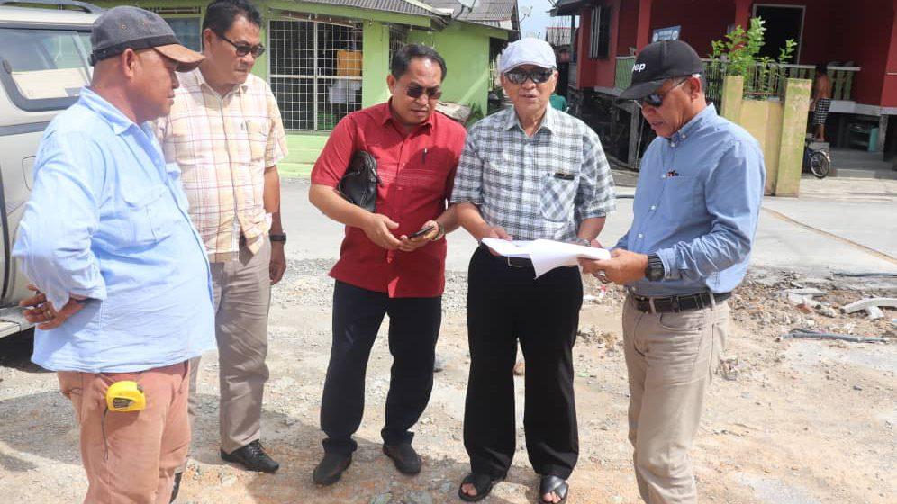 Pejalai projek RTP Dun Kabong ngemantup ati