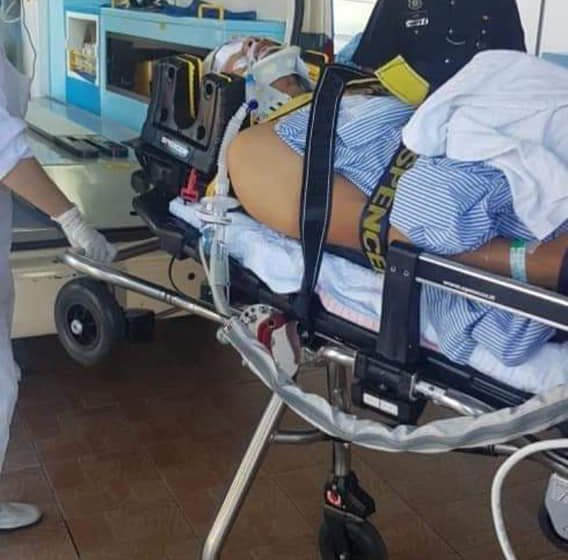 Polis dari Saratok parah kemalangan di Perak