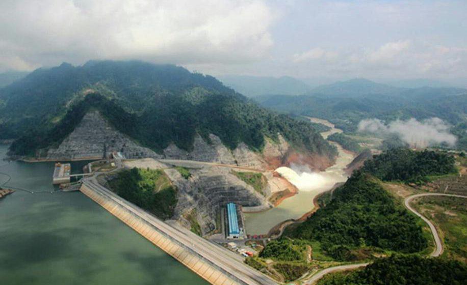 Empangan Hidroelektrik Bakun milik Sarawak