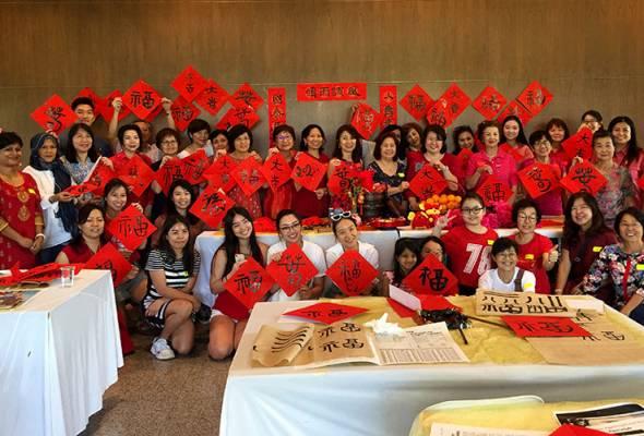 Kaum lain turut berminat pelajari kaligrafi Cina