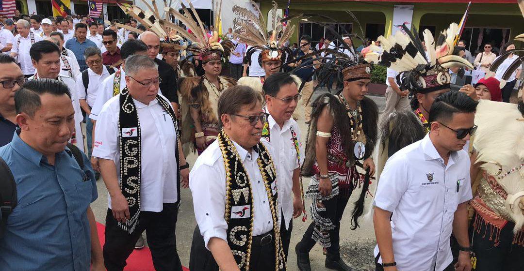 7,000 sambut Ketua Menteri di Suai