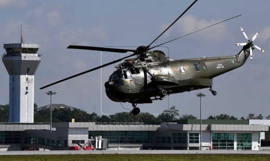Operasi helikopter Nuri ditamatkan – Panglima TUDM