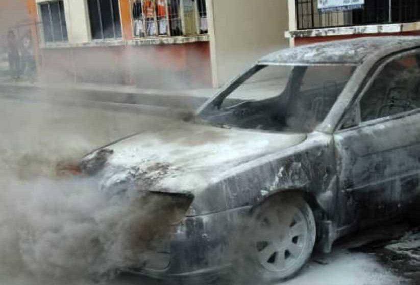Penduduk perumahan cemas Proton Waja tiba-tiba terbakar