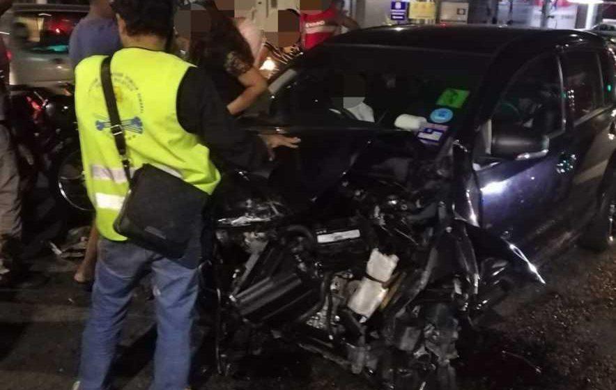 Lagi kes kemalangan akibat pemandu mabuk