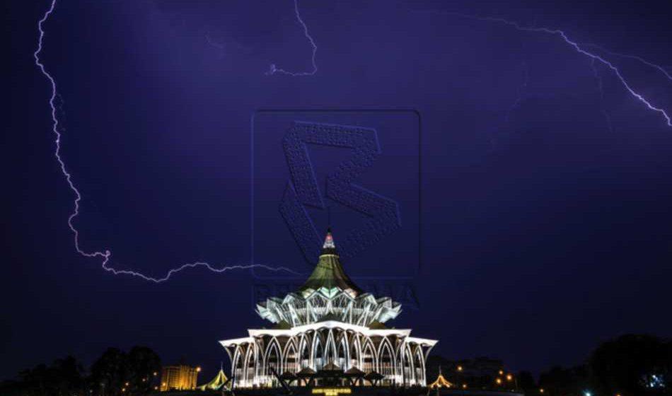 Amaran ribut petir di Sabah, Sarawak sehingga 11 malam ini
