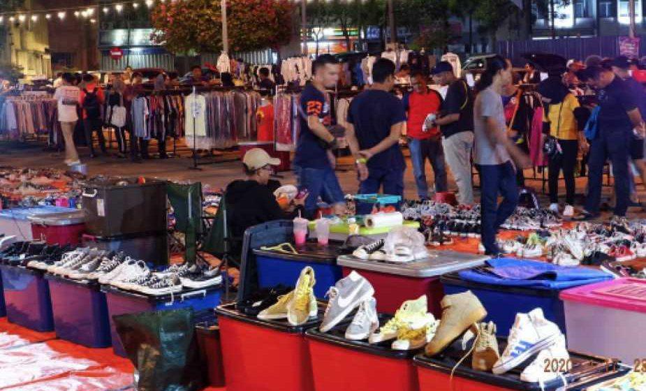 Pasar Barangan Terpakai pada 9 Februari