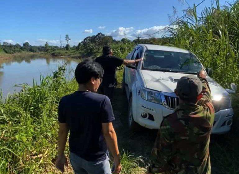 Jalan runtuh sukarkan penduduk Kampung Ukong