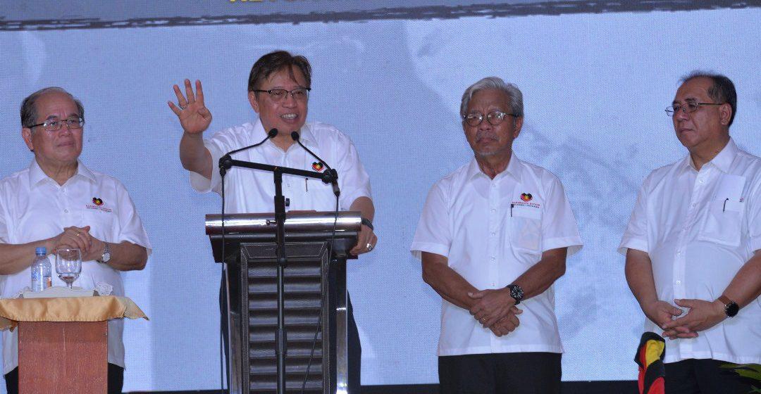 Empat hak Sarawak enda ulih dikachau