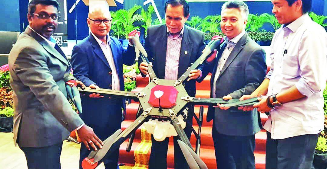 Nyerungkai pengelebih teknologi drone