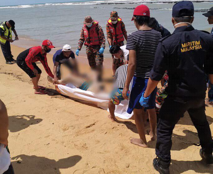 Mayat warga Myanmar yang hilang ditemui di pantai Samalaju