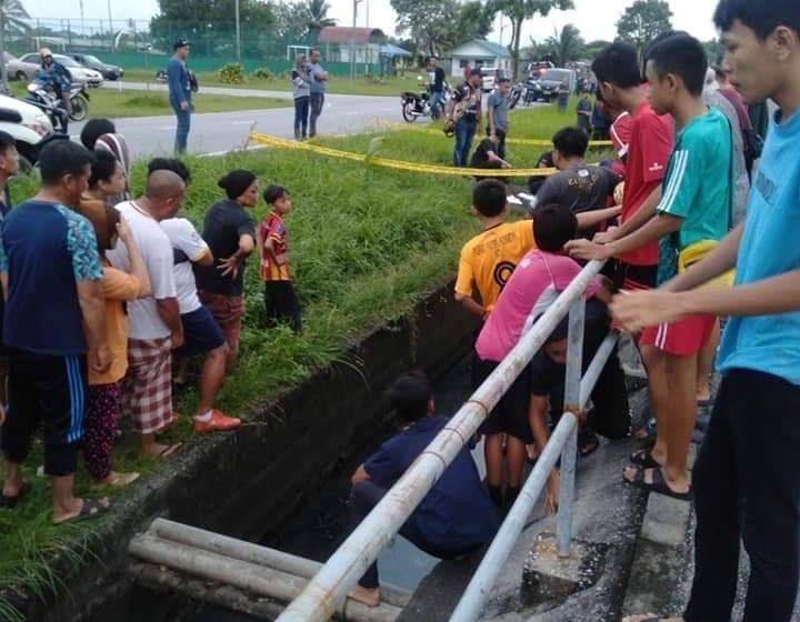 Mayat bayi ditemui dalam longkang di Samariang
