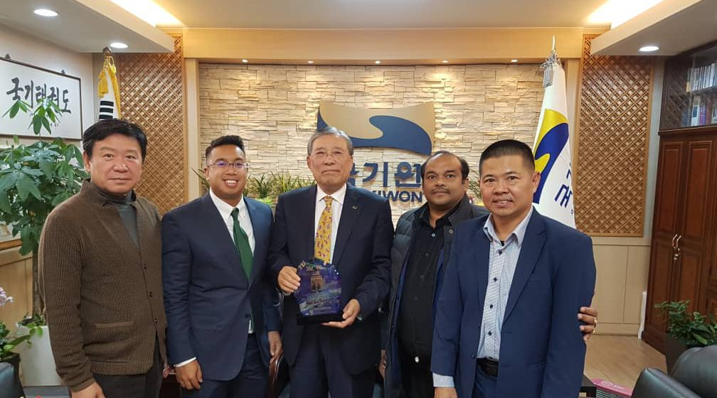 WTF Malaysia/Sarawak kunjungi Choi Young di Korea Selatan