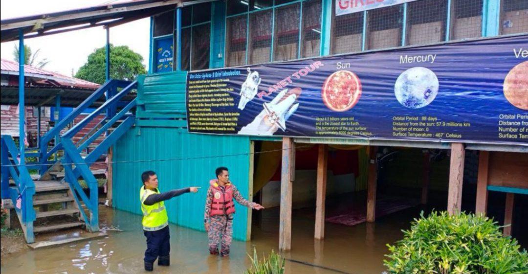 11 buah sekolah di Miri dilaporkan terjejas akibat banjir