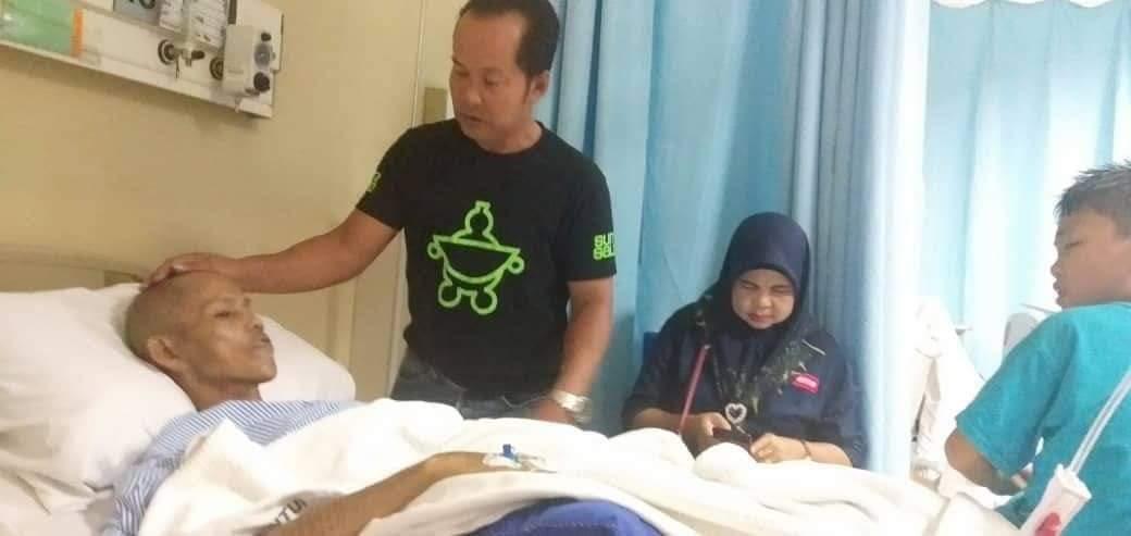 Isteri mohon sumbangan, suami dijangkiti kanser tisu