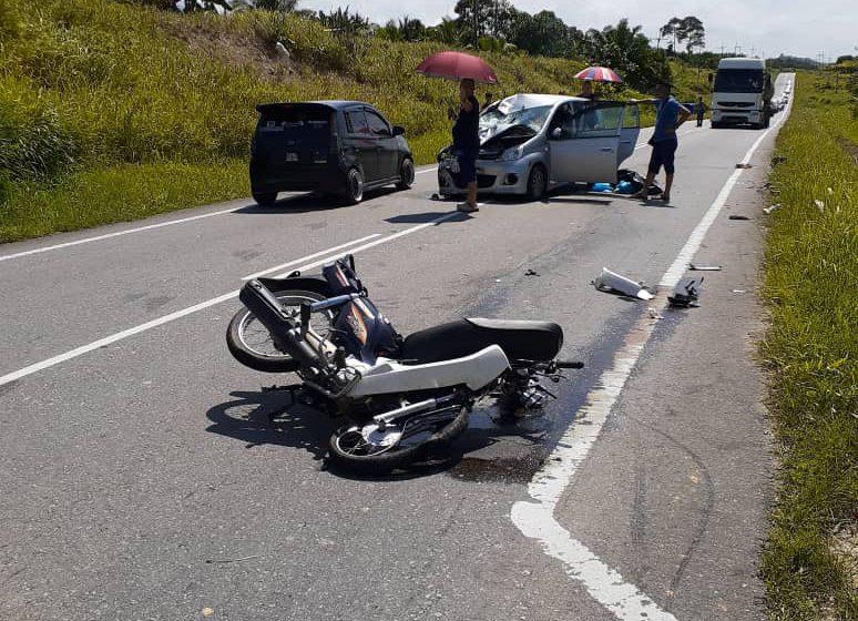 Dua lelaki maut motosikal bertembung Viva di Miri