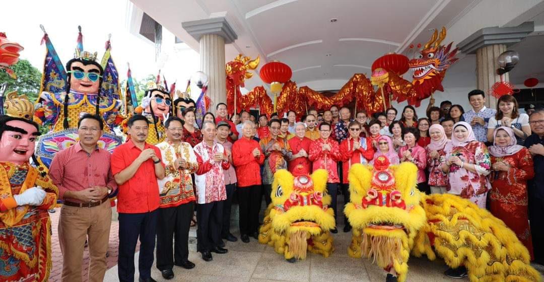 Penatai Kepala Menteri ngerichah TBC di Miri
