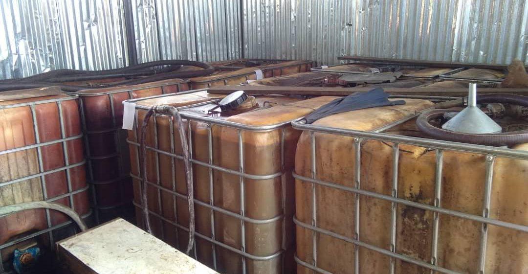 25,400 liter minyak diesel tanpa permit dirampas