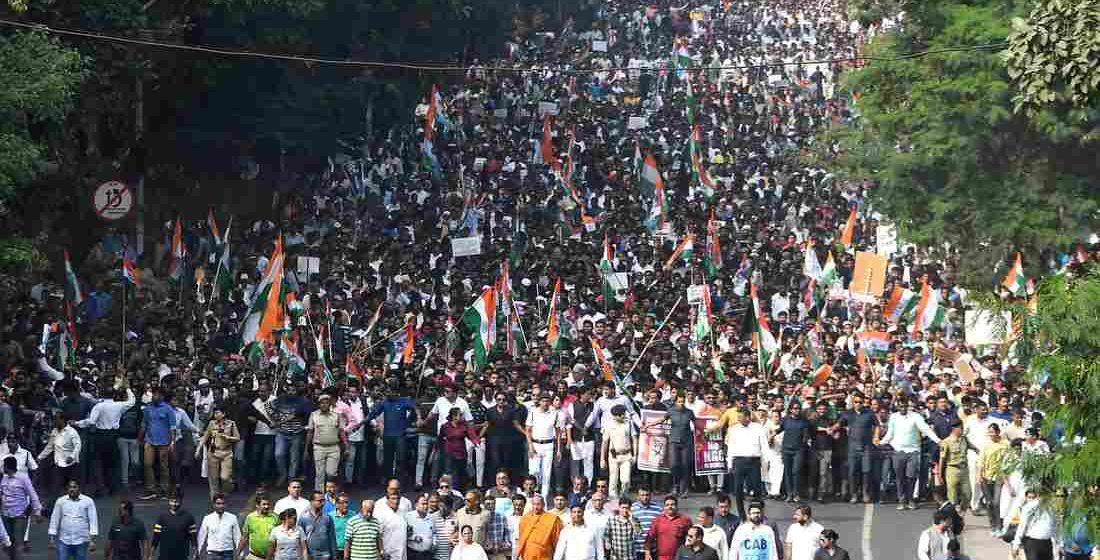 Jutaan rakyat India lancar mogok, bantah dasar kerajaan