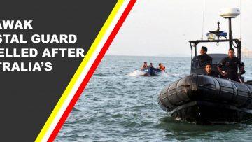 Pengawal pantai Sarawak elak ancaman luar