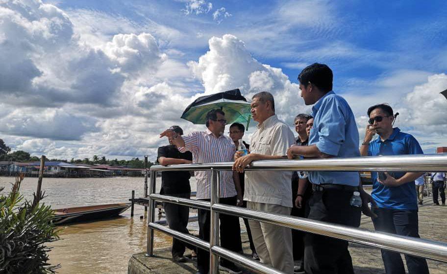 Projek Tebingan Sungai Limbang lancar